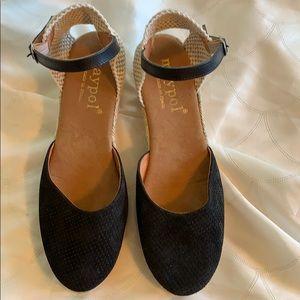 Maypol Espidrilles Lola Wedges Black size 42
